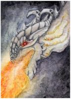 ACEO: Set the fire by SaQe