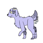 i named this character after my dead dog by quaysora-cornelius