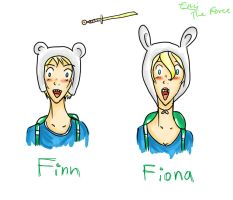 Finn/Fiona AT by iAmTheForcex3