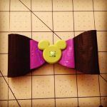 Mickey Mouse bow by GothianaVampet
