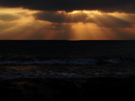 Epic Sunset in Paphos 2 -Outtake- by IoannisCleary