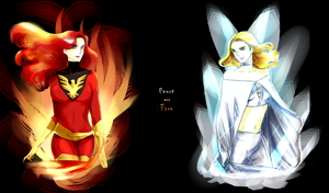 Frost and Fire by ayurelacteus