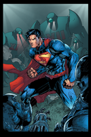 Superman Action Comics by LazerBat