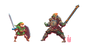The Legend of Pixel Zelda by IgorWolski