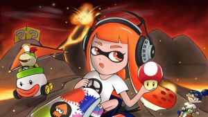 Inkling Perspectives: Wii Grumble Volcano by 7colors0