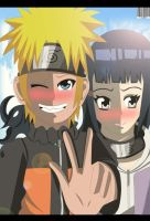 Naruto and hinata Love by Sarah927