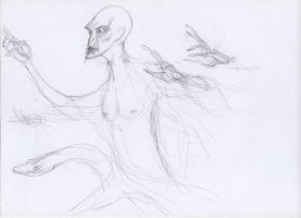 sketching voldemort 2 by chuenguan