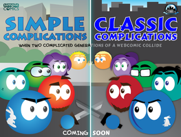 SIMPLE and CLASSIC... Coming Soon by simpleCOMICS