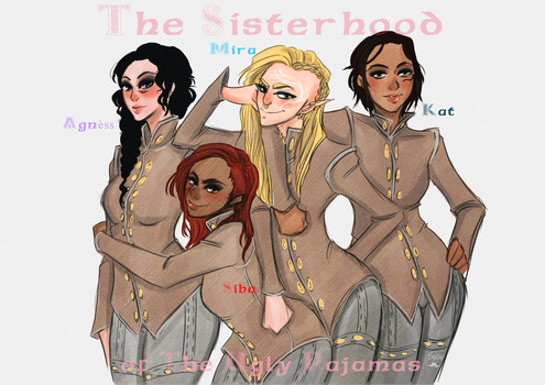 The Sisterhood of the Ugly Pajamas by AlexielApril