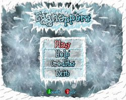 Eggnappers main menu by Niteshader