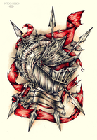 Tattoo design_Primus Inter Pares by DZIU09