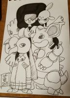 Inktober 22nd by Vulpes-Canis