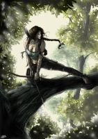 Tomb raider reborn by Mattia Marini by MariniMa