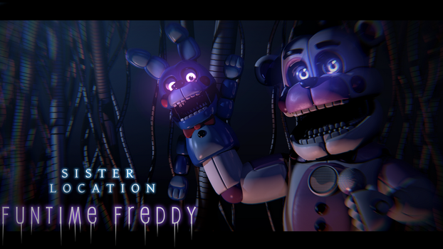 Well Hello Again! - [FNaF SL Blender Poster] by ChuizaProductions