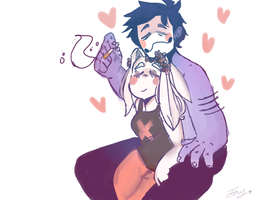 Player And Zacharie by depressedsin