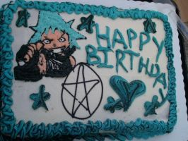 Black Star Cake by Selene200