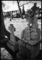 Infrared Cemetery I by mastercylinder