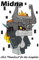 Midna Cubee by bot-chan