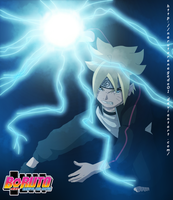 Boruto - Naruto the Movie: Boruto Chidori by NarutoRenegado01