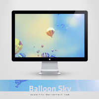 Balloon Sky by Azzertty