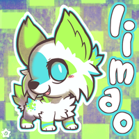Little Lime Lynx by crayon-chewer