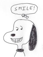 SNOOPY - SMILE! by dth1971