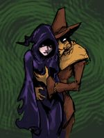 Scarecrow and his Queen by MK01