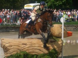 Pippa Funnell on Ensign by SarahxLou