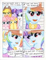 Fluttershy and the Rainbow Factory P.17 by The1King