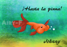 Johnny the fish by Airy-F