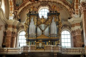 Cathedral pipe organ 1, Innsbruck by wildplaces