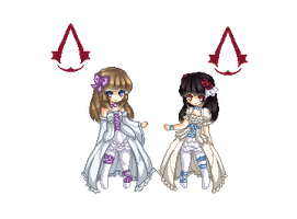 Pixel Pagedoll (not for free use!) by chizuchiyoko