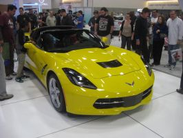2014 Chevrolet Corvette C7 Stingray Yellow Targa by granturismomh