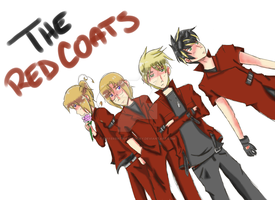 APH: The Red Coats [colored] by DifferentWaysToCry