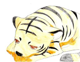 Kisa Sohma- Tiger by Ri-Chan-and-Oka-Chan