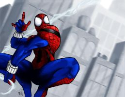 Ben Reilly Spider-Man by elguapo6
