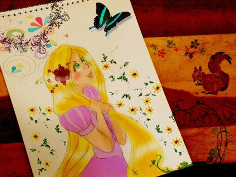 Tangled_My world by asami-h