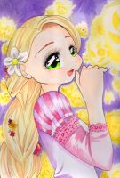 Tangled: Rapunzel by CrimsonxPsyche