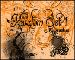 PS Random Brushes Set1 by Illyera