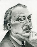 Salvador Dali by charmaine15