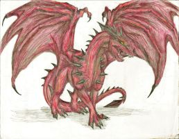 red dragon by padfoot2012