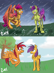 Before and After by bellathecatartist