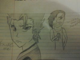 Toshiro And Gavyn by LMW-Creations