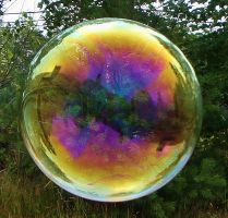 Colorful Bubble Reflections by Blueidone