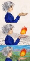 Howl's Moving Castle: WIP by kimberly-castello