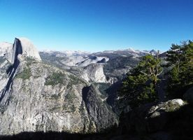 Behind Half Dome by Synaptica