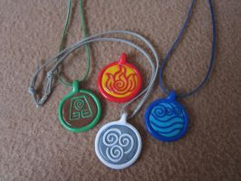 Avatar Last Airbender Necklace Pendant FOR SALE by klumtimea