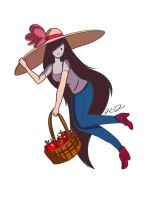 Marceline With Big Floppy Hat by sugarfairy7