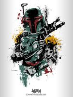 Boba Splatter by bykai