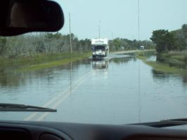 driving through flood water... by Tokio-Lover